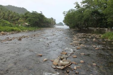 Embouchure d'une rivière