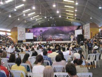 Conférence contre le changement climatique et pour les droits de le tere mère