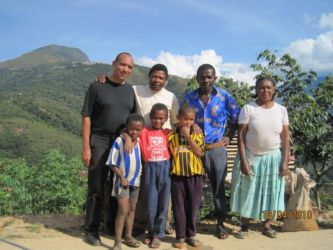 Famille afro-bolivienne de Coroico