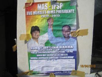 Jorge Barra, député afro-bolivien