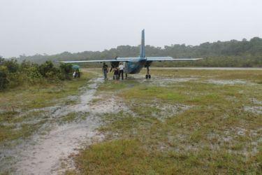 Aterrissage à Kaetur