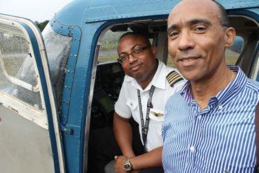 Avec le pilote