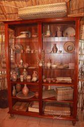 Divers objets de vannerie