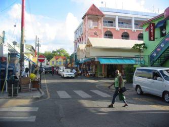 Rue de Saint John's, Antigua