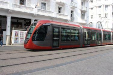 Casablanca, le tramway