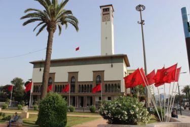 Casablanca, l'hôtel de ville