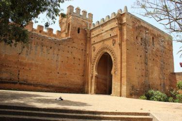 Rabat, architecture arabe de Chella