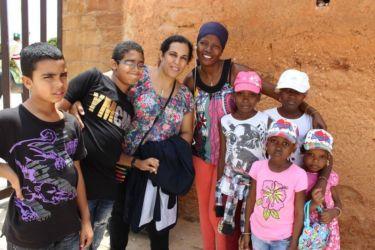 Rabat, avec une famille malienne