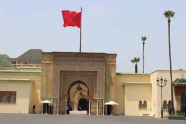 Rabat, entrée intérieure du Palais royal
