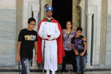 Rabat, garde du mausolée royal