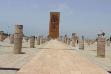 Rabat, la tour Hassan