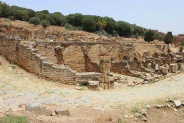Rabat, le site romain de Chella