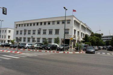 Rabat, un bâtiment ministériel