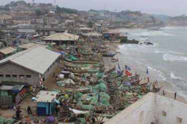 Cape Coast, vu du fort