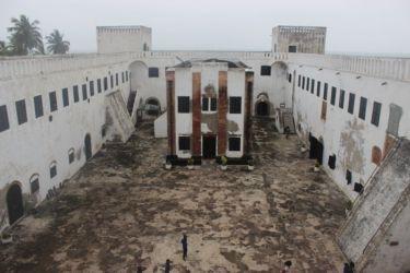 Cour du Fort St Georges, Elmina