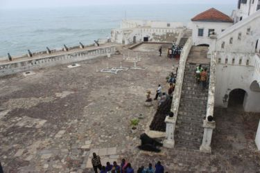 Cour du fort de Cape Coast