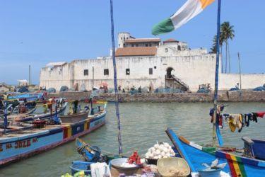 Elmina, le château St Georges