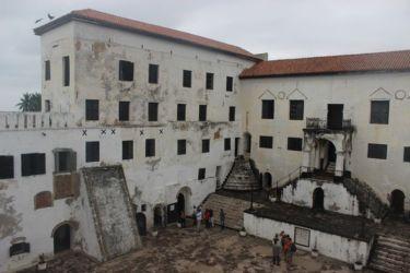 Fort St Georges d'Elmina, la cour intérieure