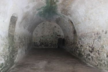 Fort St Georges, un cachot