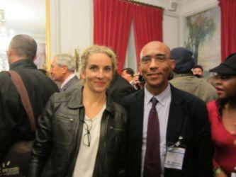 Avec Delphine Batho, Ministre de l'Ecologie