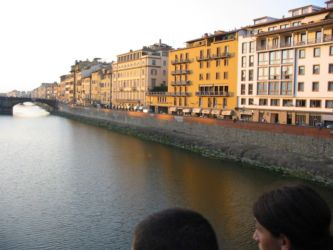 Berges de l'Arno, Florence