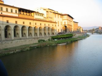 Bords de l'Arno, Florence