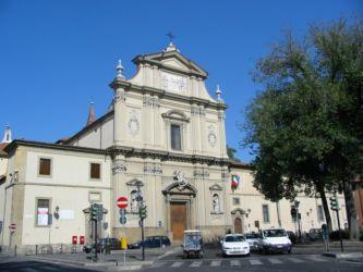 Eglise San Marco (façade néo-classique), Florence