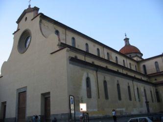 Eglise San Spirito, commencée par Brunelleschi en 1444