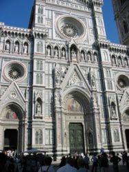 Façade de la cathédrale Ste Marie de la Fleur, Florence