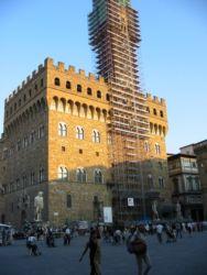 Le palazzo Vecchio sur la Piazza della Signoria