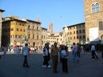 Piazza de Signoria, statue de Neptune