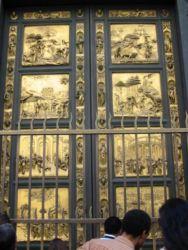 Porte du Paradis baptistère de Jean Baptiste