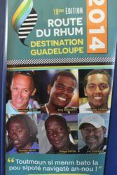 Guadeloupéens de la Route du Rhum 2014