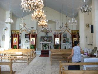 Chapelle du monastère St Serge-St Bacchus (Maloula)