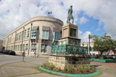 Statue de l'Amiral Nelson