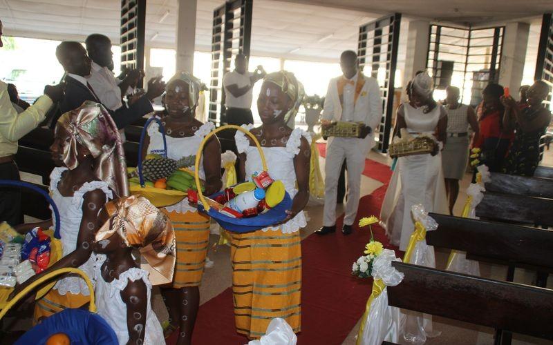 Un beau mariage à Abidjan