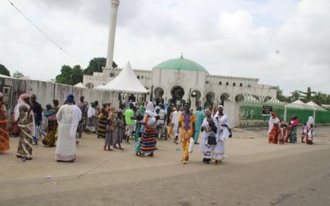 Fin de la prière d'Aït El Fitr à la Mosquée de Riviera Golf