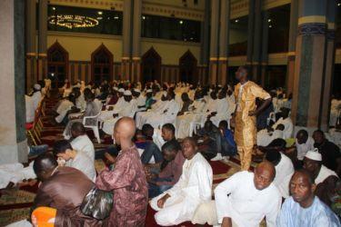 Nuit du Destin à la Mosquée du Plateau