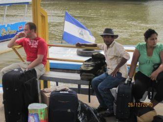 A la frontière avec le Nicaragua