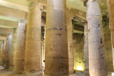 Abydos, la salle hypostyle