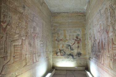 Abydos, une des 7 chapelles