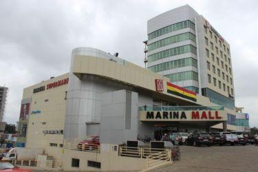 Accra, centre commercial Marina