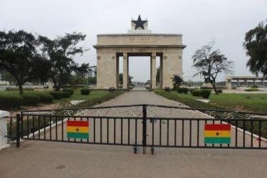 Accra, monument de l'indépendance