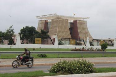 Accra, palais présidentiel (Flagstaff House)