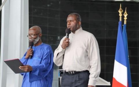 Alioune Cissé et Jacques Martial