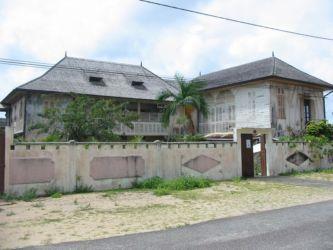 Ancienne maison d'Anne Marie Javouhey, à Mana