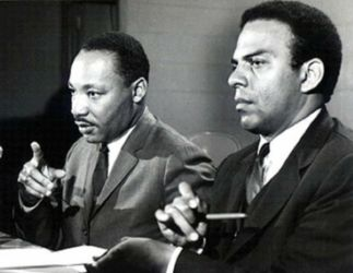 Andrew Young et Martin Luther King