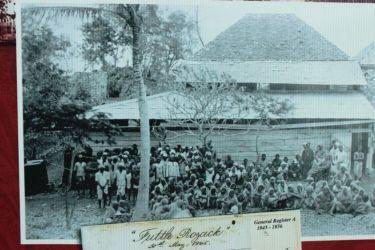 Arrivée à Trinidad des Indiens en 1845