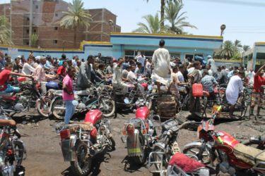 Assouan, été 2013, crise de l'essence