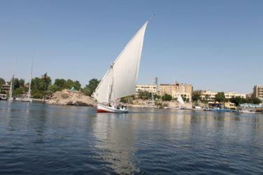 Assouan, chaloupe sur le Nil